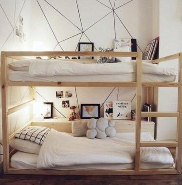 Ikea Bunk Kura Hack And Children S Bedroom Style The