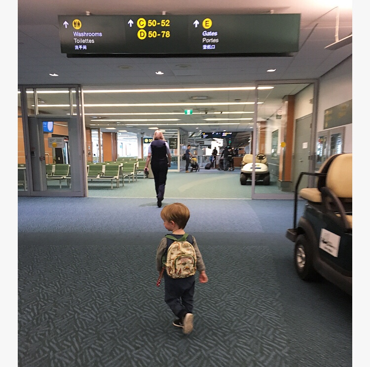 On children and long haul flights
